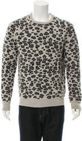 Marc Jacobs Cashmere Leopard Print Sweater