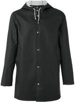 Stutterheim Stockholm hooded jacket - unisex - Cotton/Polyester/PVC - XS