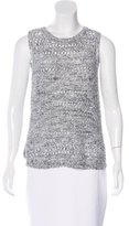 Inhabit Open Knit Sleeveless Top