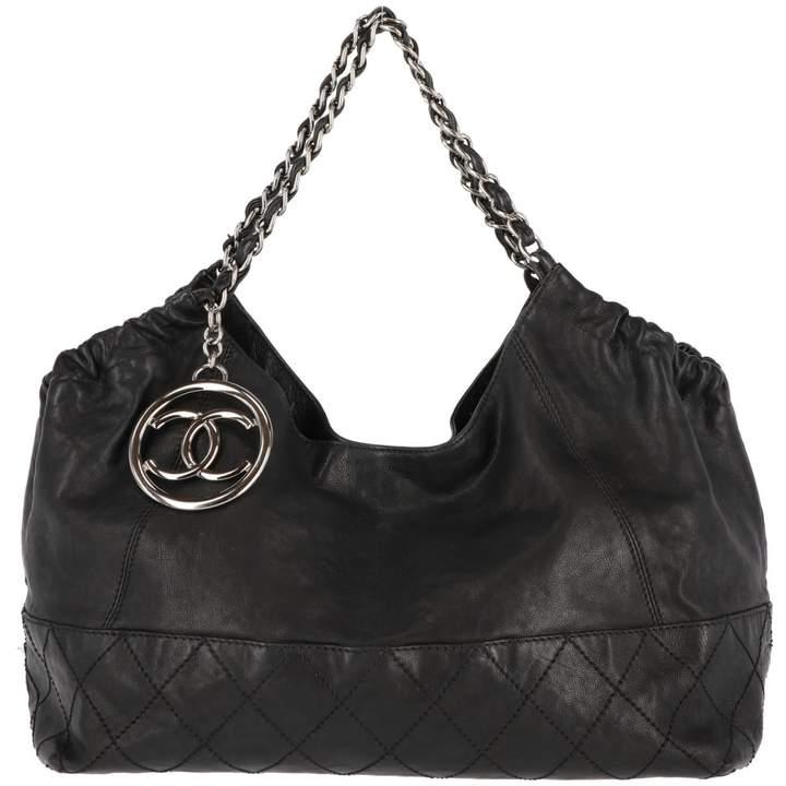 Chanel Coco Cabas leather handbag