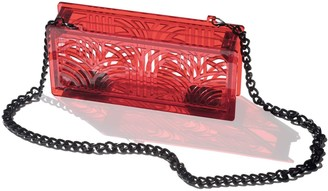 Vitro Atelier Jupiter Clutch In Fiery Red