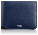 Tumi Men's 'Mason' Global Leather Wallet With Removable Passcase - Blue