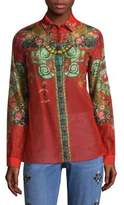 Etro Viole Tree Of Life Shirt