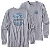 Patagonia Men's Long-Sleeved Badge Cotton/Poly Responsibili-TeeTM