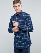 Jack and Jones Originals Shirt In Slim Fit With Brushed Check