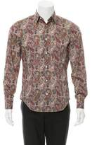 Vince Paisley Button-Up Shirt w/ Tags