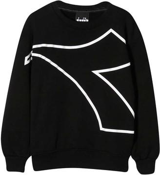 Diadora Black Sweatshirt Teen