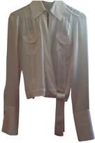 BOSS Beige Silk Top for Women