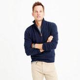 J.Crew Slim marled lambswool half-zip sweater