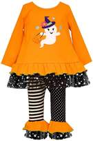 Bonnie Jean Little Girls Ghost Knit Tunic and Leggings, Sz