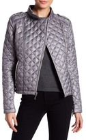 Kenneth Cole New York Quilted Moto Jacket
