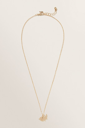 Seed Heritage Bunny Initial Necklace