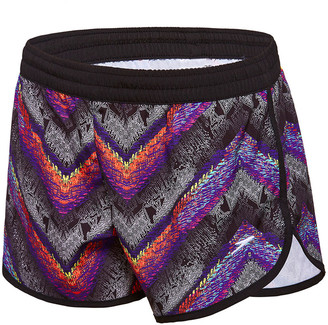 Speedo Girls Chroma Zag Work Out Short