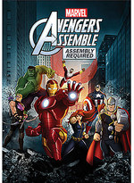 Disney Avengers Assemble Assembly Required DVD