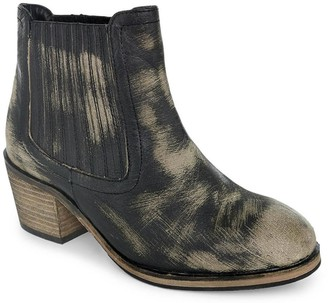 ROAN Hand Finished Leather Ankle Boots - Barcelona