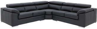 Brady 100% Premium Leather Corner Group Sofa