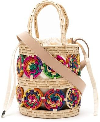 Nannacay Iris bucket bag