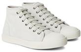 A.p.c. - Cap-toe Suede Sneakers