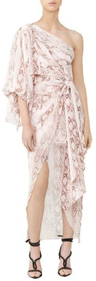 Significant Other Belmond Snake Print Dress