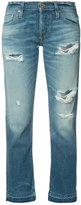 NSF ripped cropped jeans - women - Cotton/Rayon - 26