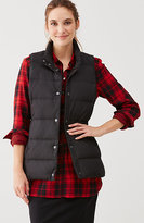 J. Jill Stockbridge Down Puffer Vest