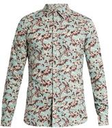 Marni Floral-print Cotton Shirt