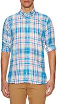 Hickey Freeman Chest Pocket Sportshirt