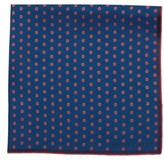 hook + ALBERT Men's Mamba Dot Silk Pocket Square