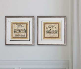 Wexford Home Color My World-2 Piece Set Art Print 16X16
