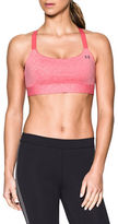 Under Armour Mid Impact Heathered Sports Bra