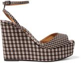 Castaner Zula printed twill wedge sandals