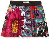 Desigual Girl's FAL_fumanya Skirt,(Manufacturer Size: 5/6)