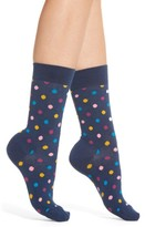 Happy Socks Women's Dot Crew Socks