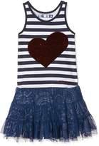 Desigual Toddler Girls' Vest_Linlcon Dress, Navy