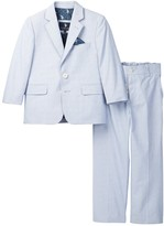 U.S. Polo Assn. Blue Pincord 2-Button Suit (Little Boys & Big Boys)