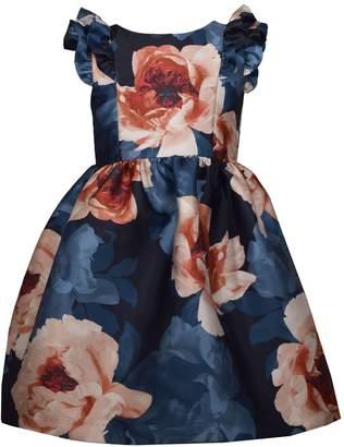 Bonnie Jean Girls 7-16 Ruffle Cap Sleeve Dress