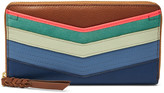 Fossil Caroline RFID Zip Around Wallet