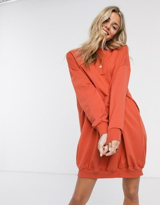 Asos Design DESIGN oversized sweat dress