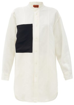Colville - Patch-pocket Buttoned Shirt - Ivory