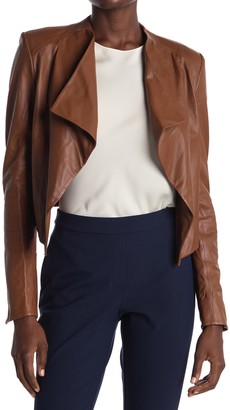 Theory Crossover Lamb Leather Jacket