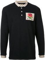 Kent & Curwen Stokes Rose polo shirt - men - Cotton - S