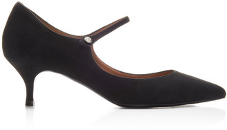 Tabitha Simmons Hermione Leather Pumps