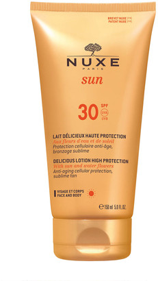 Nuxe Sun Lait Delicieux Haute Protection Delicious Lotion High Protection Spf30 150Ml