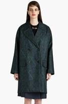 Marni Snowflower Print Bonded Coat