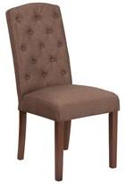 Rotterdam Fabric Upholstered Panel Multipurpose Charlton Home Upholstery Color: Brown