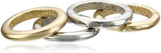 Sam Edelman Stackable Four-Ring Set Size 7