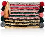 Loeffler Randall Multicolor Tassel Raffia Pouch
