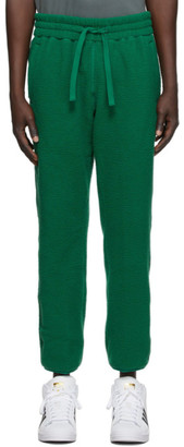 Aimé Leon Dore Green Deep Pile Lounge Pants