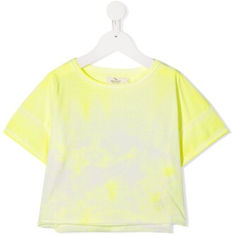 Andorine tie dye print T-shirt