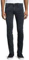 Frame L'Homme Fade Skinny-Leg Jeans, Gray